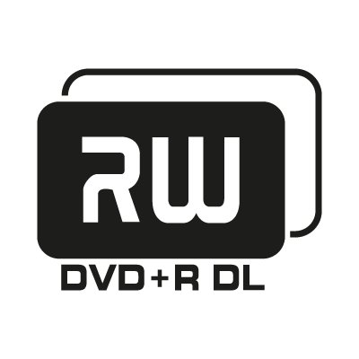 DVD+R DL vector logo