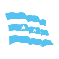 Flag of Guayaquil vector logo download free