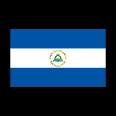 Flag of Nicaragua vector logo