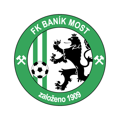 FK Banik Most vector logo