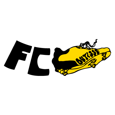 Football Club Coutisse vector logo