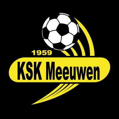 KSK Meeuwen vector logo