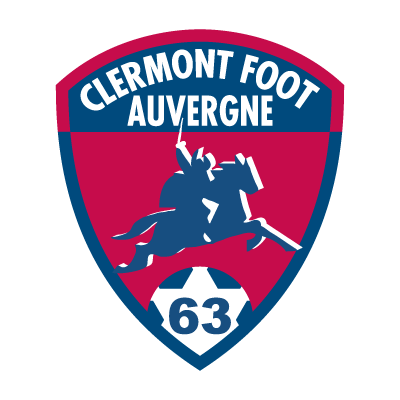 Clermont Foot Auvergne 63 vector logo
