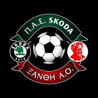 PAE Skoda Xanthi AO vector logo