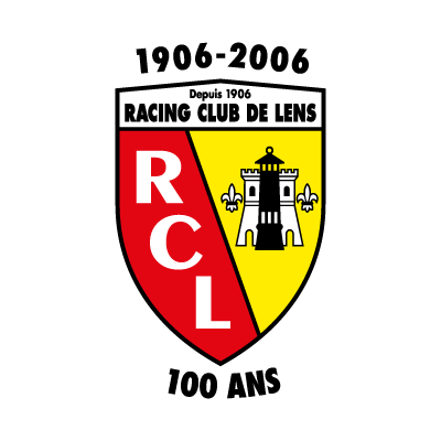 Racing Club de Lens (100 ANS) vector logo
