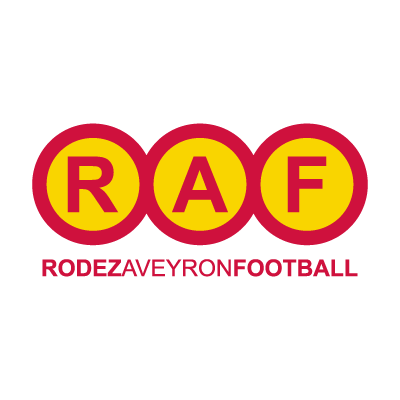 Rodez Aveyron Football vector logo