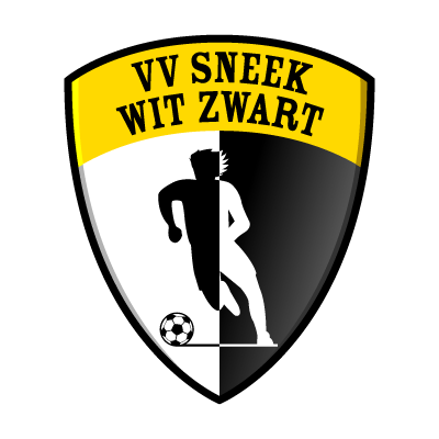 VV Sneek Wit Zwart vector logo