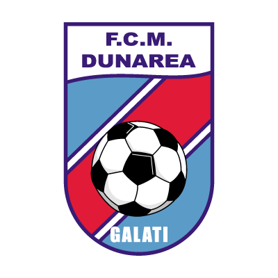 FCM Dunarea Galati vector logo