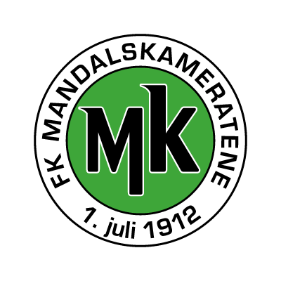 FK Mandalskameratene vector logo