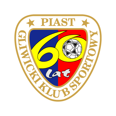 GKS Piast Gliwice (lat) vector logo