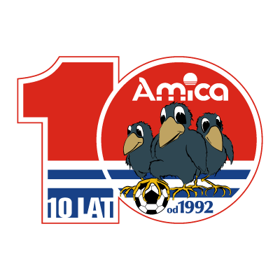KS Amica Wronki (1992) vector logo