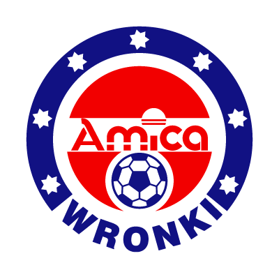 KS Amica Wronki vector logo