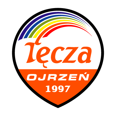 LKS Tecza Ojrzen vector logo