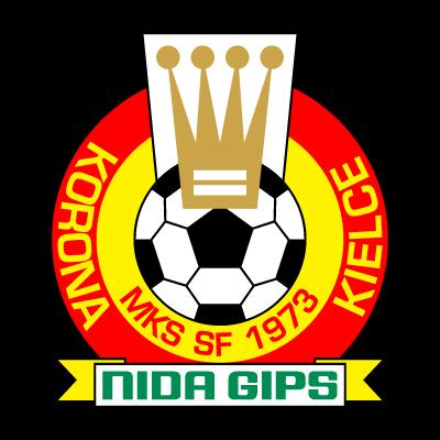 MKS SF Korona Nida Gips Kielce (1973) vector logo