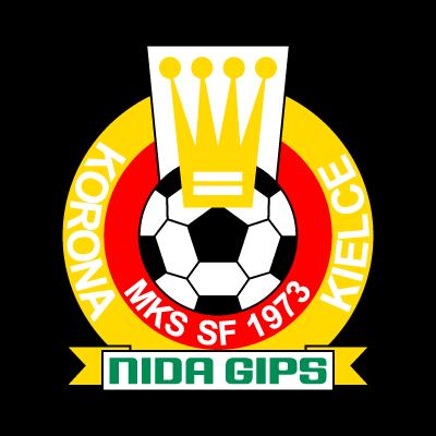 MKS SF Korona Nida Gips Kielce vector logo