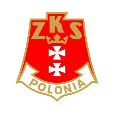 ZKS Polonia Gdansk vector logo