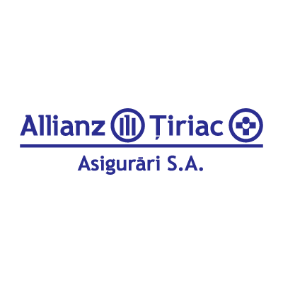 Allianz Tiriac Romania vector logo