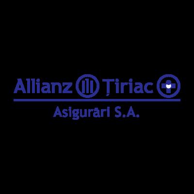 Allianz Tiriac Romania vector logo