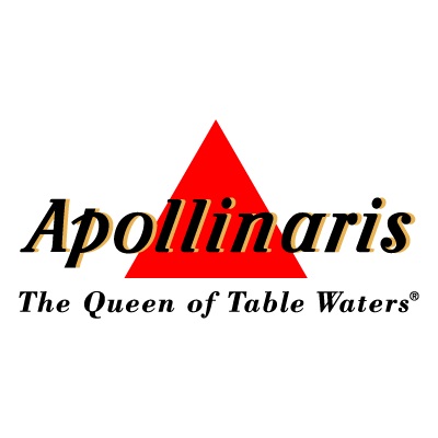 Apollinaris - The Queen of Table Waters vector logo