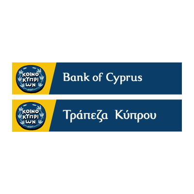 Bank of Cyprus vector logo