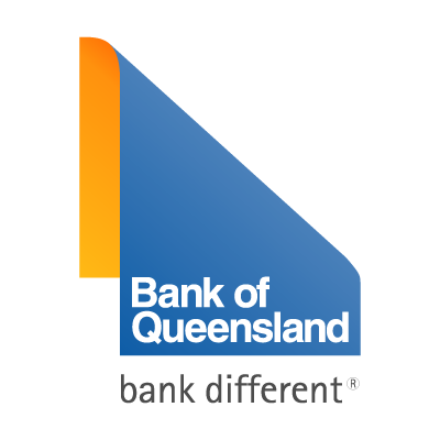 Bank of Queensland different vector logo