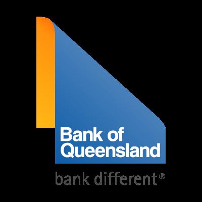 Bank of Queensland different vector logo