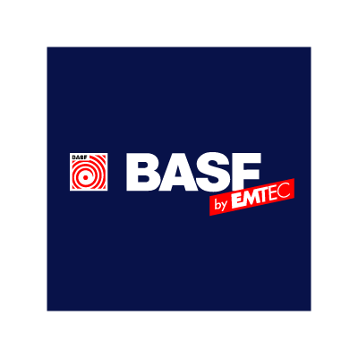 BASF by EMTEC vector logo