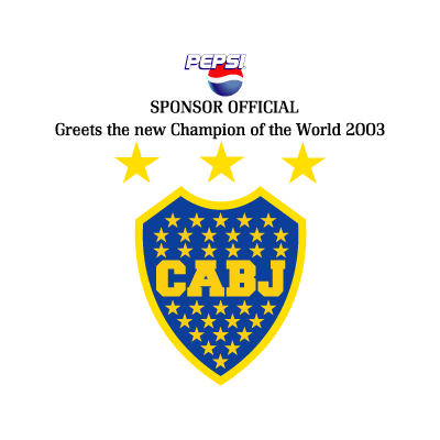 Boca Juniors - Pepsi vector logo