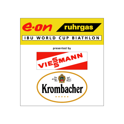 E-on Ruhrgas IBU Biathlon Worldcup logo