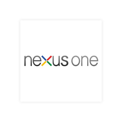 Google nexus one vector logo