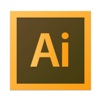 Illustrator CS6 vector logo
