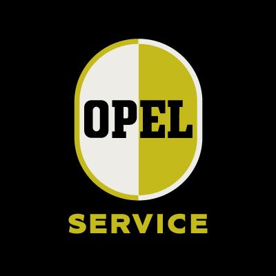 Opel Service vector logo