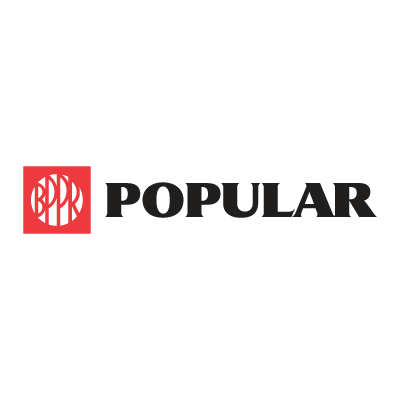 Popular Bank vector logo