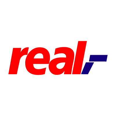 Real vector logo