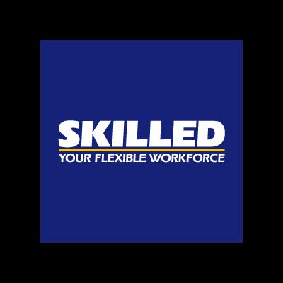 Skilled vector logo