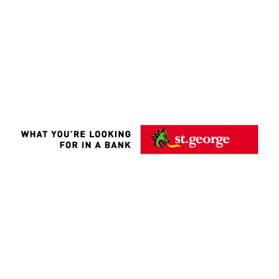 St. George Bank Australian vector logo