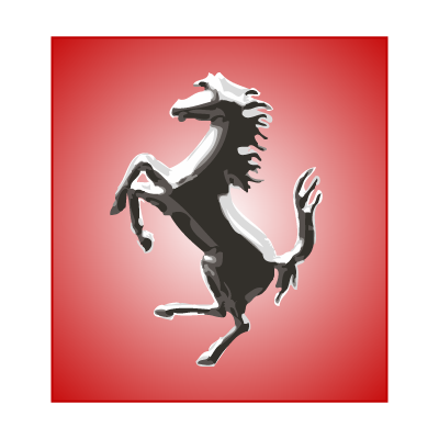 Ferrari Horse Silver logo