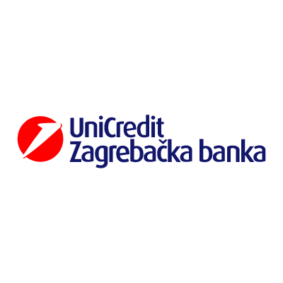 UniCredit Zagrebacka vector logo