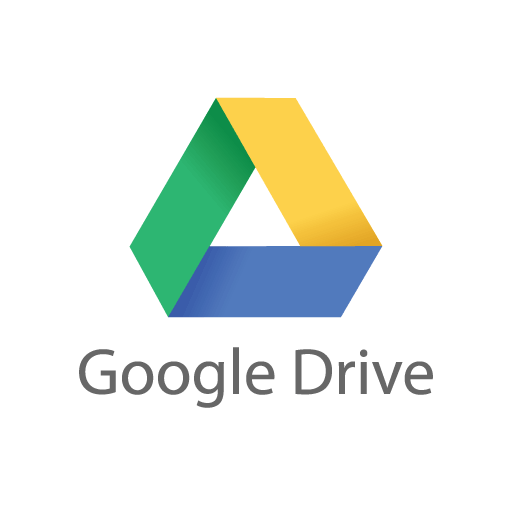 Google Drive logo vector free download