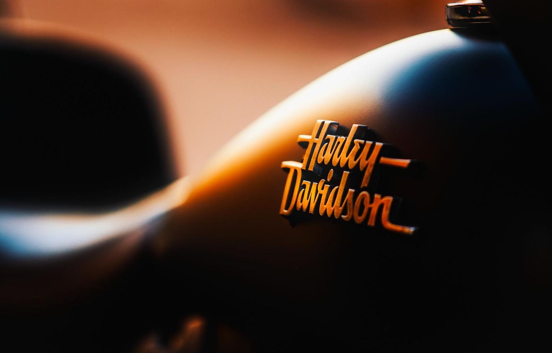 Harley-Davidson logo vector free download