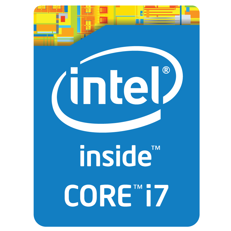 Intel Core i7 inside logo