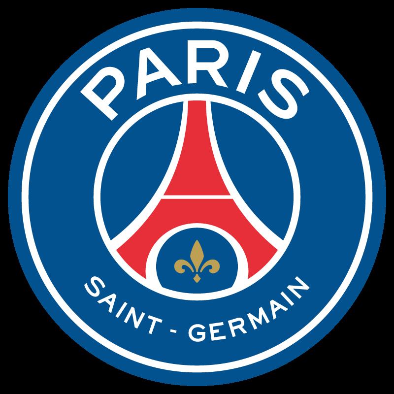 New Paris Saint-Germain FC logo vector (2D + 3D)