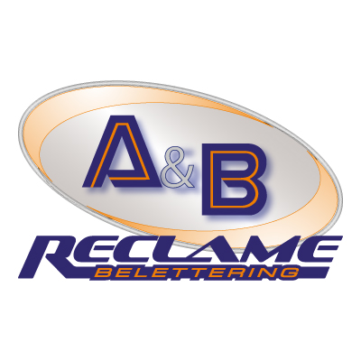 A&B reclame logo vector - Logo A&B reclame download