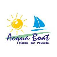 Acqua Boat logo vector