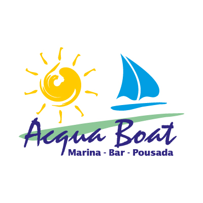 Acqua Boat logo vector - Logo Acqua Boat download