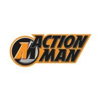 Action Man logo vector