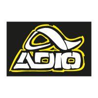 Adio Clothing logo vector