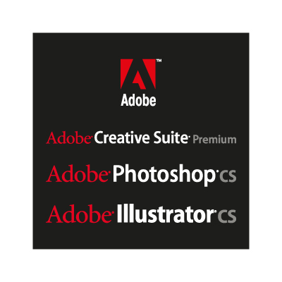 Adobe Black logo vector - Logo Adobe Black download