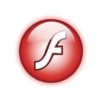 Adobe Flash 8 logo vector
