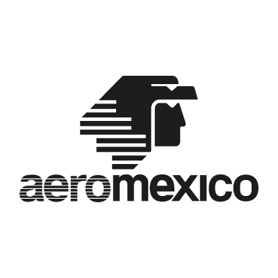 AeroMexico Black logo vector - Logo AeroMexico Black download
